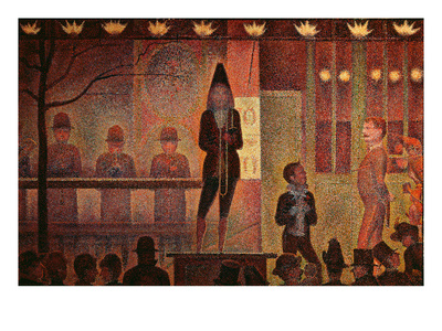 Circus Parade, 1887-8 Premium Giclee Print by Georges Seurat