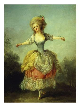 Danseuse (Dancer or Ballerina) Premium Giclee Print by Jean-frederic Schall