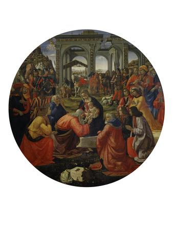 Adoration of the Magi C.1487 Premium Giclee Print by Ridolfo Ghirlandaio