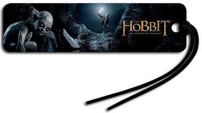 The Hobbit - Gollum and Bilbo Beaded Bookmark Bookmark