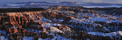 Bryce Amphitheater in Winter Photographic Print by Raul Touzon