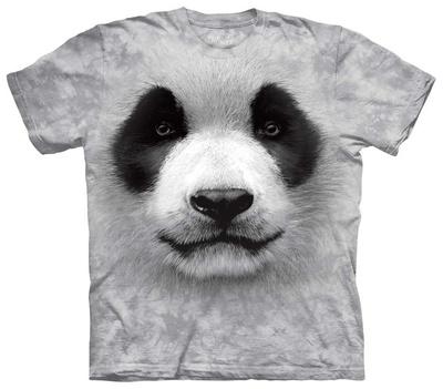 Big Face Panda T-shirts