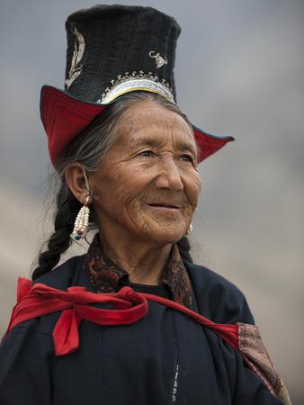 Diskit, Nubra Valley, Ladakh, India Photographic Print by Alex Treadway