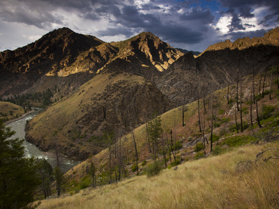 The Middle Fork of the Salmon River Photographic Print by Michael Melford