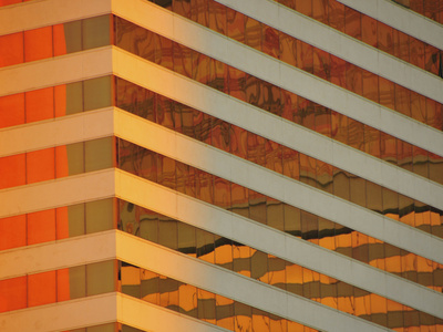 Pattern of Windows in a Building Photographic Print by Jorge Fajl