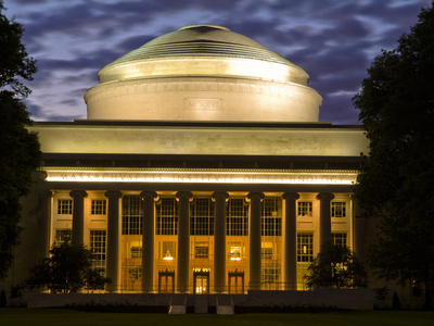 The Great Dome Overlooking M.I.T.'s Killian Court Photographic Print by Richard Nowitz
