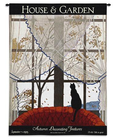 House & Garden Sept 1925 タペストリー : André Marty