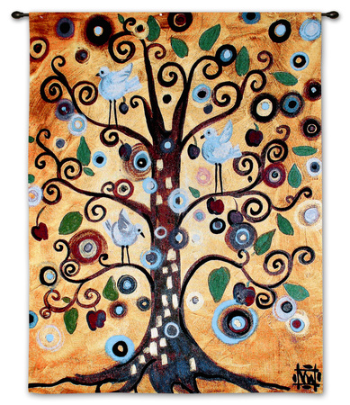 Untitled From The Tree Of Life タペストリー : ナターシャ・ウェスコート