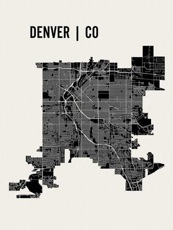 Denver Prints by  Mr City Printing