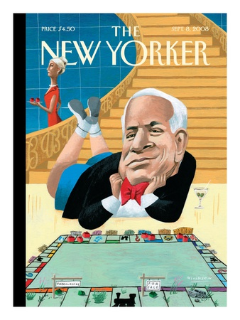 The New Yorker Cover - September 8, 2008 Giclee Print by Mark Ulriksen