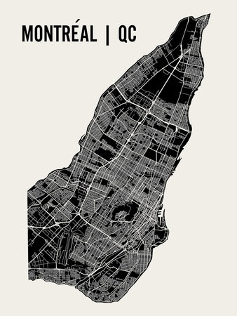 Montreal Posters by  Mr City Printing