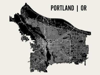 Portland Prints by  Mr City Printing