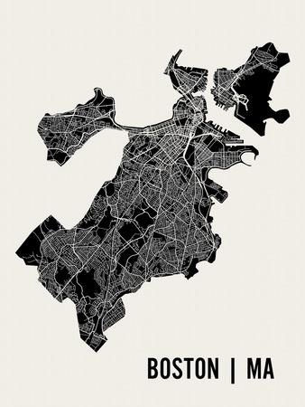 Boston Art by  Mr City Printing