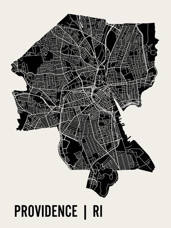 Providence Art by  Mr City Printing