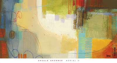 Aerial II Print by Ursula J. Brenner