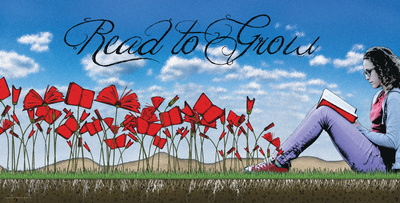 Read to Grow Poster by Jeanne Stevenson