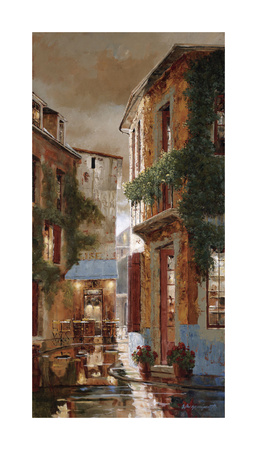 Tender is the Night Giclee Print by Gilles Archambault