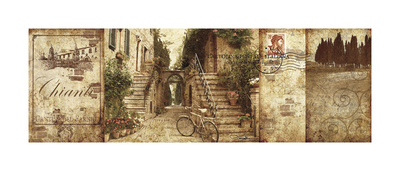 Tuscany Giclee Print by Keith Mallett
