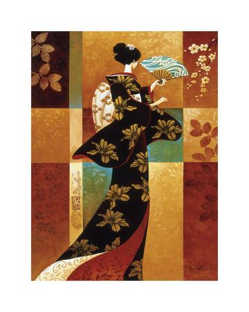Sakura Giclee Print by Keith Mallett