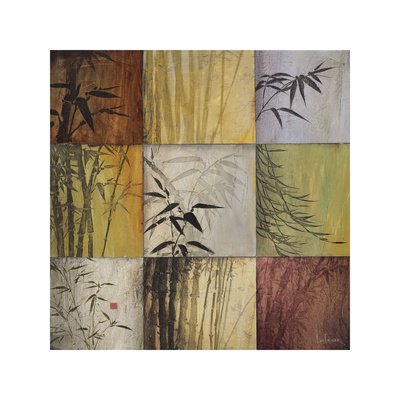 Bamboo Nine Patch II Giclee Print by Don Li-Leger
