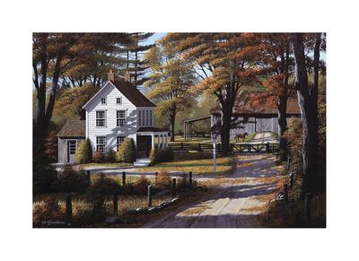 Rustling Leaves Giclee Print by Bill Saunders