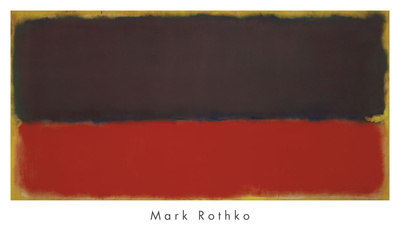 No. 13, 1951 Poster by Mark Rothko