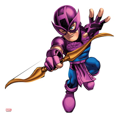 Marvel Super Hero Squad: Hawkeye Shooting Otro
