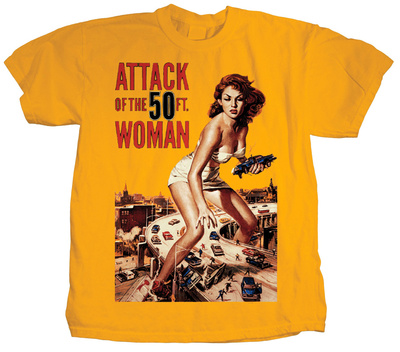 Attack of the 50 foot Woman T-shirts