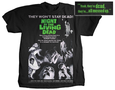 Night of the Living Dead - Movie Poster Camisetas