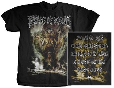 Cradle of Filth - Titans T-shirts