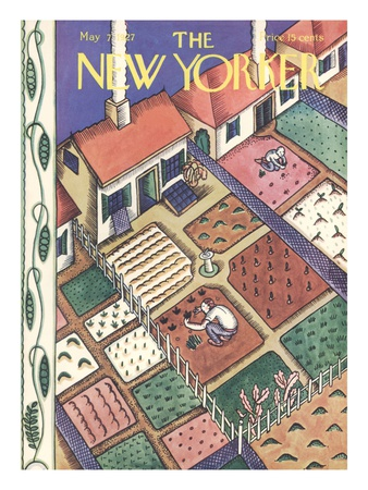The New Yorker Cover - May 7, 1927 Giclee Print by Ilonka Karasz