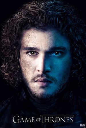 Game of Thrones Season 3 - Jon Snow Poster
