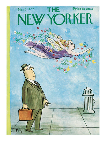 The New Yorker Cover - May 5, 1962 Regular Giclee Print by William Steig