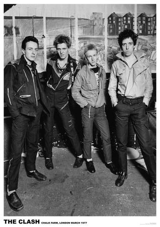 The Clash - London 1977 Photo