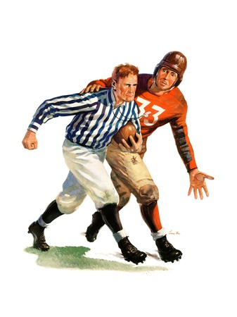 """""""But Ref!,""""October 22, 1938 Giclee Print by Lonie Bee"""