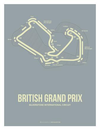 British Grand Prix 1 Prints by  NaxArt