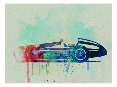 Alfa Romeo Tipo Watercolor Poster by  NaxArt