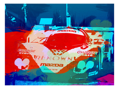 Mazda Le Mans Posters by  NaxArt