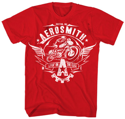 Aerosmith - Livin' On The Edge T-Shirt