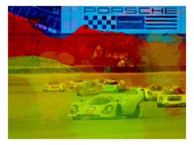 Porsche 917 Racing Prints by  NaxArt