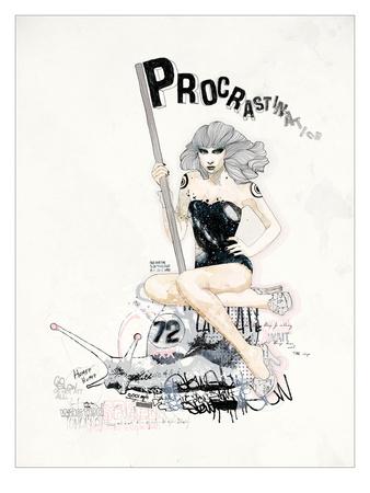 ProcrastiNATION Prints by  Mydeadpony