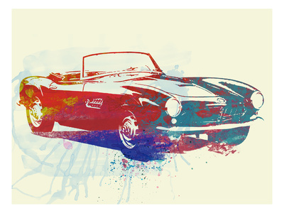 Bmw 507 Print by  NaxArt