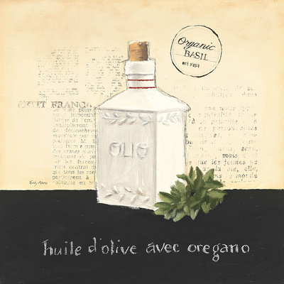 Huile d Olive II Prints by Emily Adams