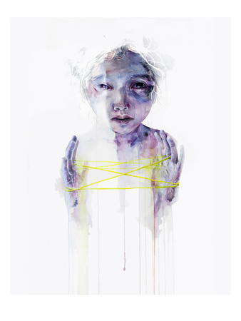 The Making of Structures Print by Agnes Cecile