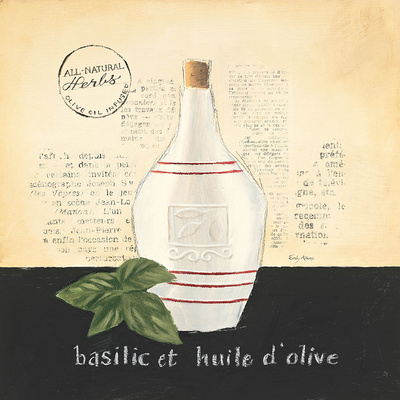 Huile d Olive III Prints by Emily Adams