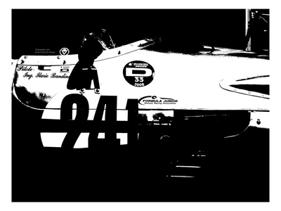 Laguna Seca Racing Cars 2 Posters by  NaxArt