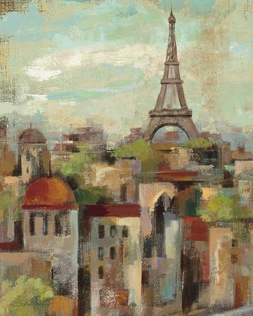 Spring in Paris II Prints by Silvia Vassileva