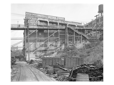 Independent Sheet Metal Co., Seattle, 1917 Giclee Print by Ashael Curtis