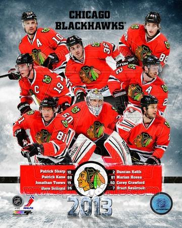 Chicago Blackhawks 2012-13 Team Composite Photo
