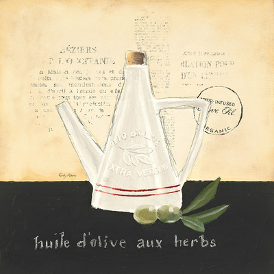 Huile d Olive IV Prints by Emily Adams